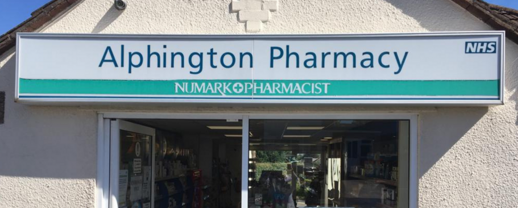 alphington pharmacy Exeter